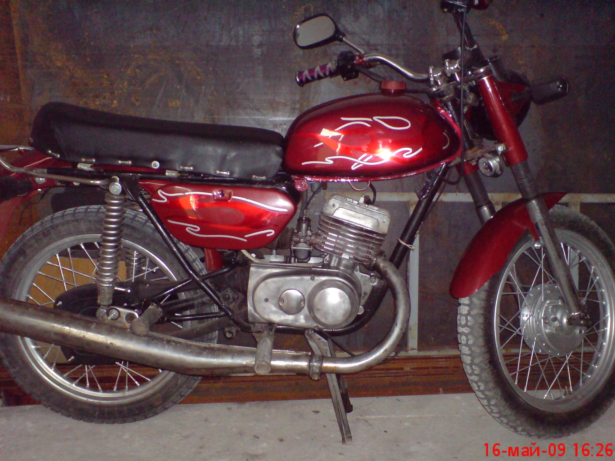 Мотоцикл минск своими руками