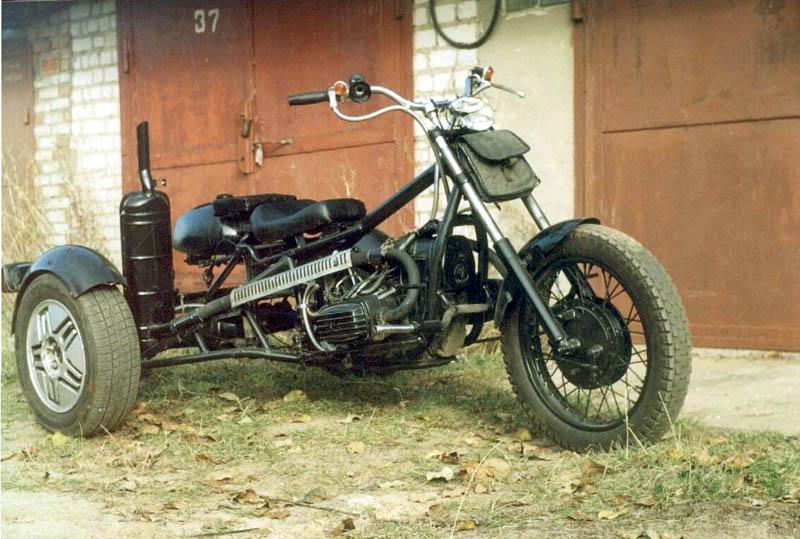 Мотоциклы самоделки своими руками фото