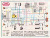схема электрооборудования мотоцикла ЯВА 350/368