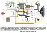 схема электрооборудования мотоцикла ИЖ-49