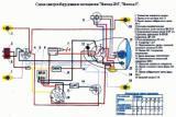 схема электрооборудования мотоциклов Восход 2м Восход 3
