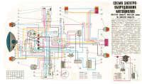 схема электрооборудования мотоциклов К.М.З-8.155 Днепр-11 К.М.З-8.157 Днепр-14 К.М.З-8.922 Днепр-16